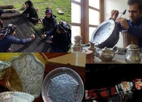 برپایی نمایشگاه صنایع دستی و سوغات محلی در حاشیه جشنواره موسیقی