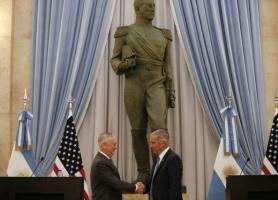 وزیر دفاع آمریکا وارد شیلی شد، ماتیس در آرژانتین بر تقویت همکاری تاکید نمود