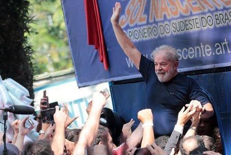حزب چپ گرای برزیل همچنان داسیلوا را نامزد انتخابات ریاست جمهوری می داند