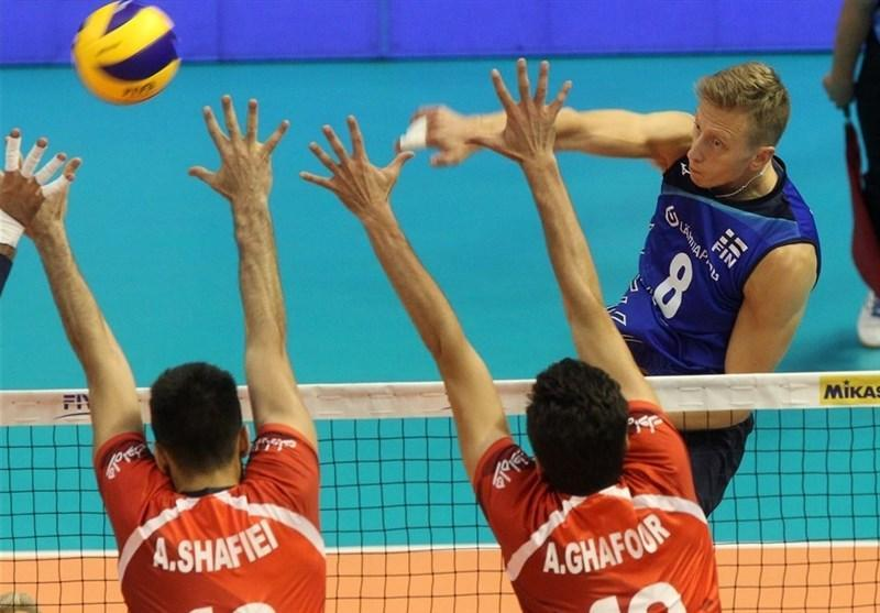 از بلغارستان، تیم ملی والیبال ایران در ماراتنی نفس گیر از سد فنلاند گذشت، انتها مرحله نخست با 11 امتیاز