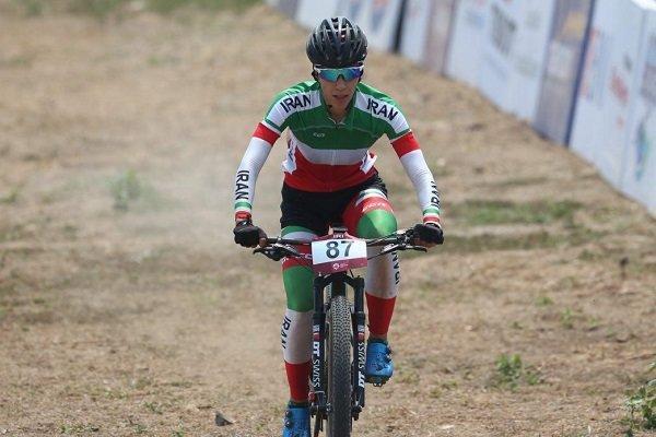 20 امتیاز المپیکی برای رکابزن ایران در مسابقات کاپ جهانی اسلوونی