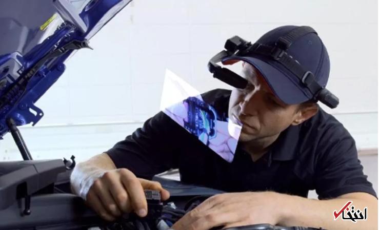 عینک هوشمند جدید شرکت بی ام و گزینه ای عالی برای تعمیرات حرفه ای خودرو