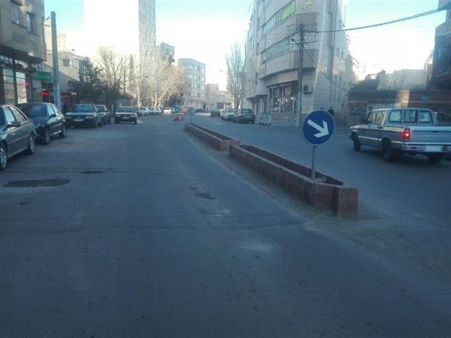 توقف عملیات عمرانی به دنبال پدیدار شدن بقایای یک سازه قدیمی مدفون در تبریز