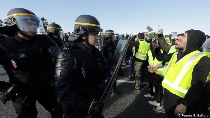 چهل و ششمین هفته اعتراض جلیقه زردها در فرانسه