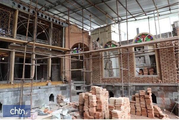 مرمت خانه خلیل زاده اردبیل نیمه اول سال آینده به اتمام می رسد