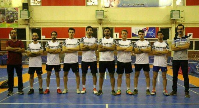 صعود تیم بدمینتون اراک به مرحله نهایی مسابقات لیگ دسته اول کشور