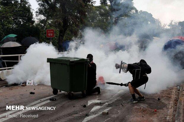 مهار خشونت و آشفتگی؛ خواست جامعه هنگ کنگ
