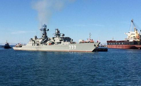 ورود یگان های شناور روسیه و چین به چابهار