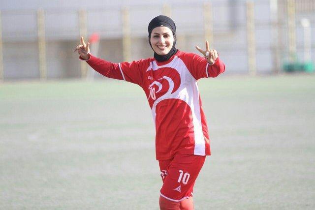 حمایت بازیکن سال از #ایران-سوریه-نوبت-زنان