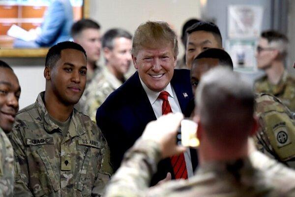 اهداف سفر اعلام نشده ترامپ به افغانستان