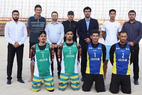 ملی پوشان ساحلی ایران برای کسب سهمیه المپیک آماده می شوند