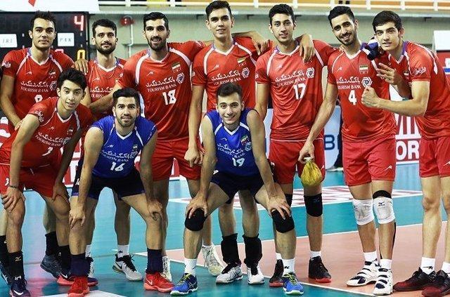 همگروهی امیدهای والیبال ایران با چین و استرالیا