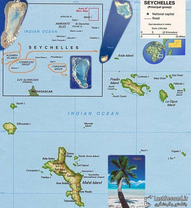 جزایر سیشل، بهشت آفریقا