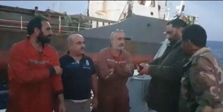 نیروهای شرق لیبی خدمه کشتی ترکیه ای را آزاد کردند