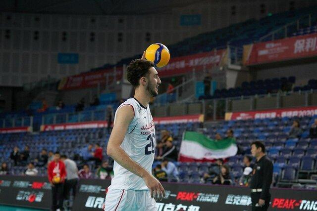 والیبال انتخابی المپیک، ایران 1 - قزاقستان 0