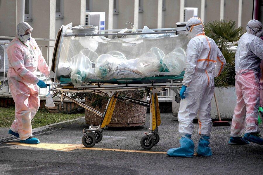 ایتالیا بیشترین افزایش روزانه یک روزه در مرگ های کرونا را گزارش کرد، قرنطینه در شمال ایتالیا سخت تر می گردد