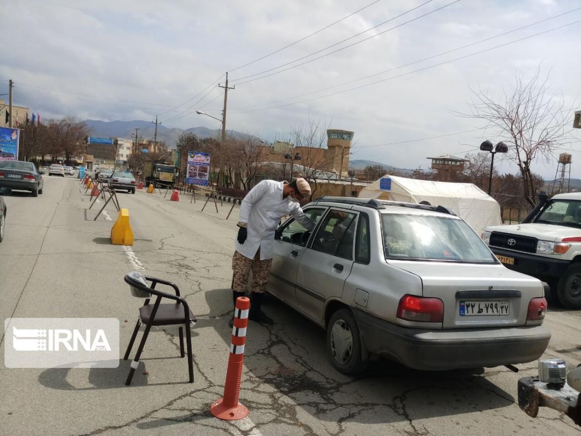 خبرنگاران کنترل خودروها در ورودی های سقز تشدید شد