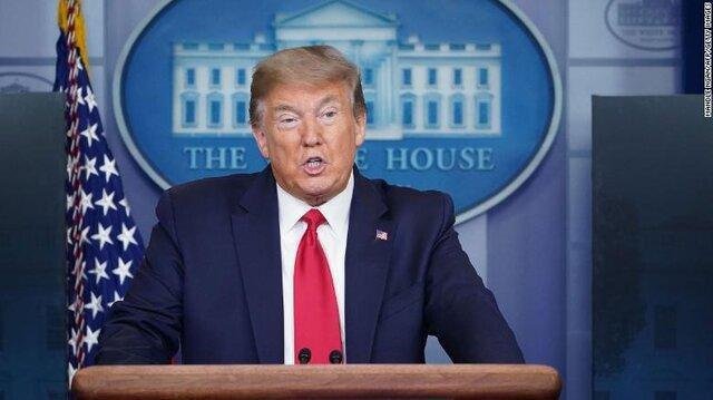 ترامپ از اقدامات دولتش در مقابله با کرونا دفاع کرد