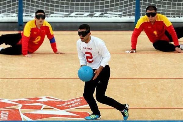 تیم ملی گلبال ایران مقابل کانادا پیروز شد