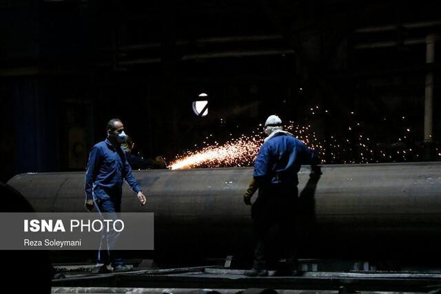جزئیات فراوری لوله های خط انتقال نفت گوره به جاسک در شرکت لوله سازی اهواز