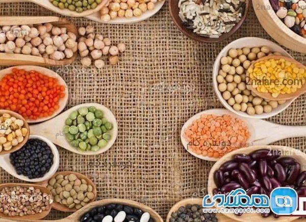 10 خوراکی ویژه و سرشار از پروتئین گیاهی