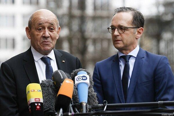 آلمان و فرانسه خواهان مذاکره با ترکیه درباره مدیترانه هستند