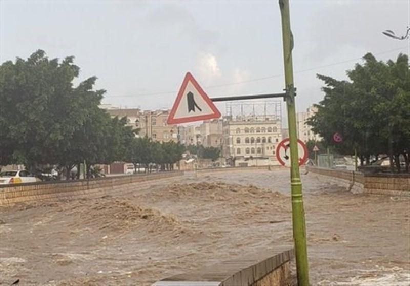 سیل شدید در صنعاء، 3 نفر جان باختند