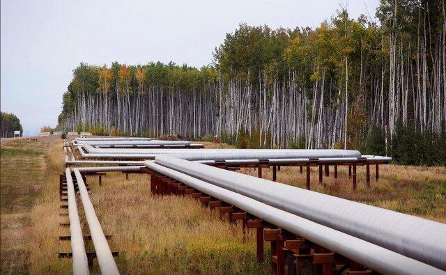 شیر نفت کانادا باز شد