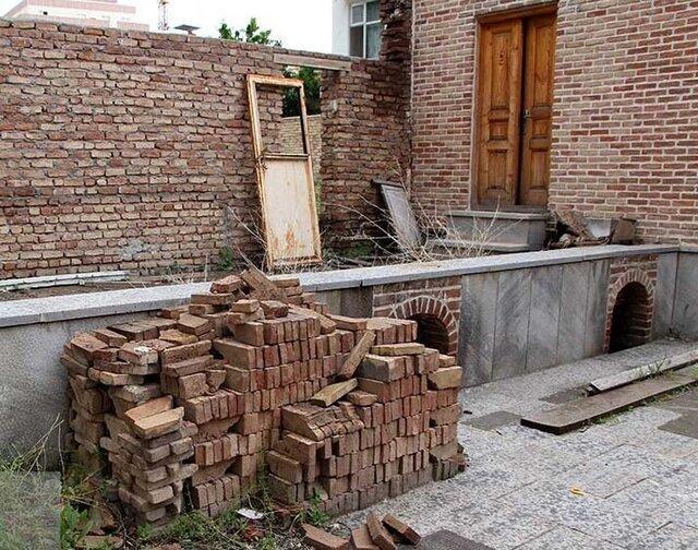 قسمت های مستهلک خانه علی مسیو آواربرداری و بازسازی می گردد