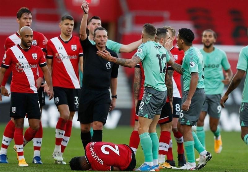 لیگ برتر انگلیس، ساوتهمپتون اولین شکست فصل را به اورتونِ آنچلوتی تحمیل کرد