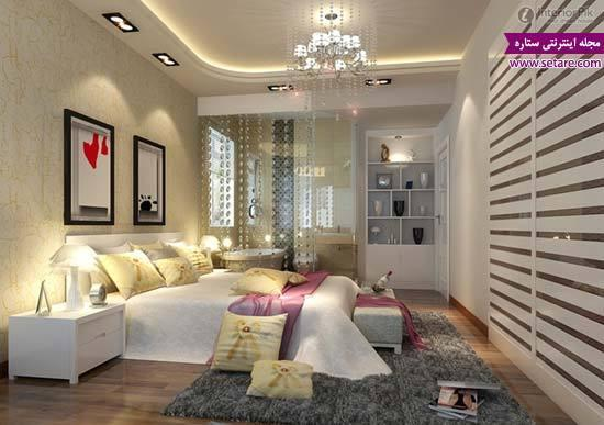 مدل کناف اتاق خواب با طرح های جدید و شیک