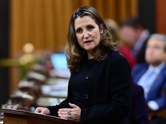 رکورد کسری بودجه کانادا به علت مبارزه با کرونا