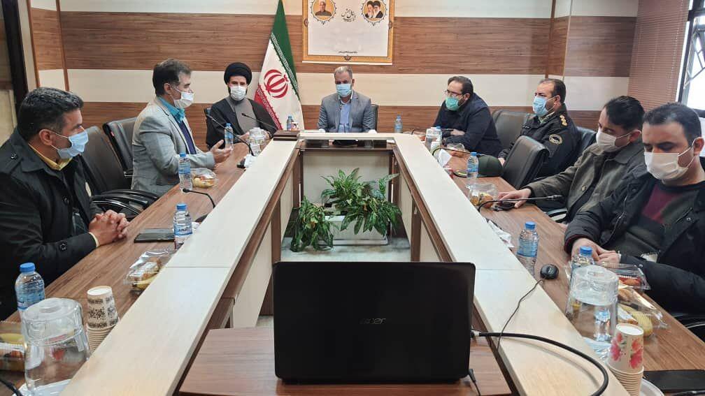 خبرنگاران عملیات احداث ایستگاه رادیویی و تلویزیونی پردیس شروع شد