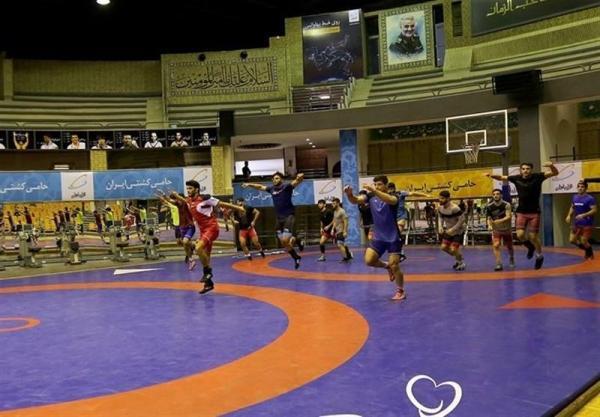 برگزاری اردوی تیم ملی کشتی آزاد با حضور 39 آزادکار