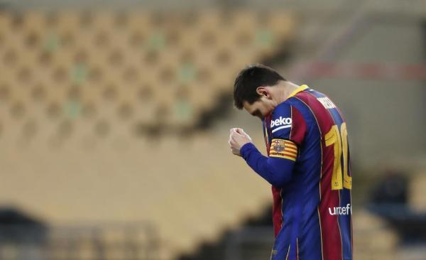فوق ستاره آرژانتینی بارسلونا در خطر محرومیتی 4 جلسه ای