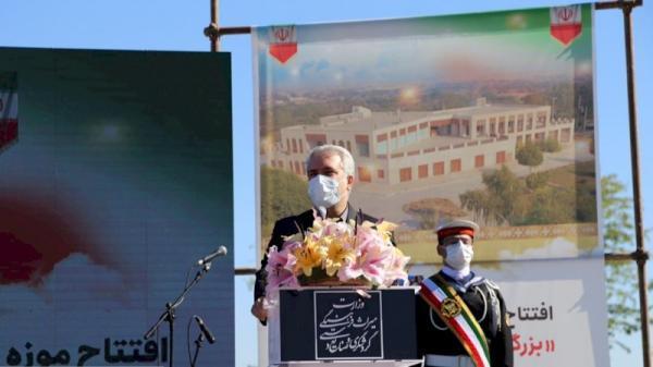 افتتاح بزرگ ترین موزه جنوب کشور در بوشهر، مونسان: تا پایان دولت دوازدهم به طور مداوم افتتاح خواهیم داشت