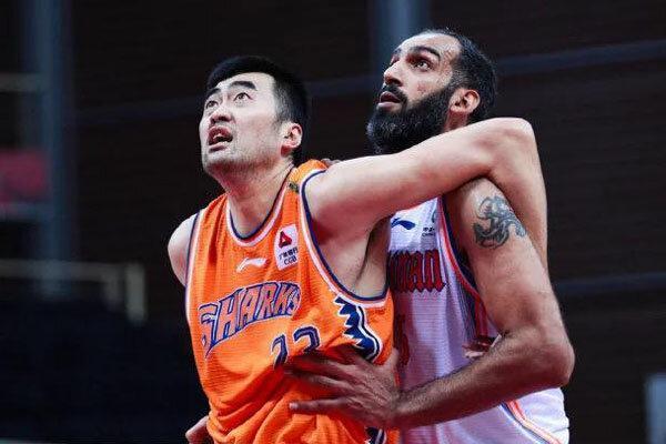 شکست حامد حدادی و هم تیمی هایش در لیگ بسکتبال چین