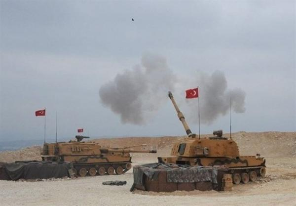 حمله توپخانه ای ترکیه به شمال الرقه سوریه
