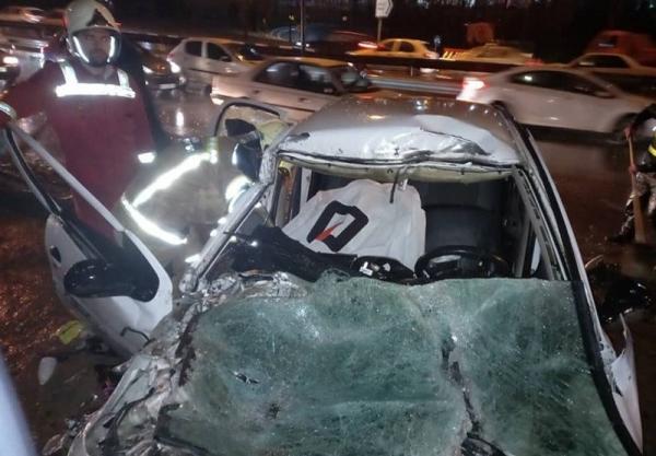 5 کشته و 4 مجروح در سانحه رانندگی محور قدیم ساوه - تهران