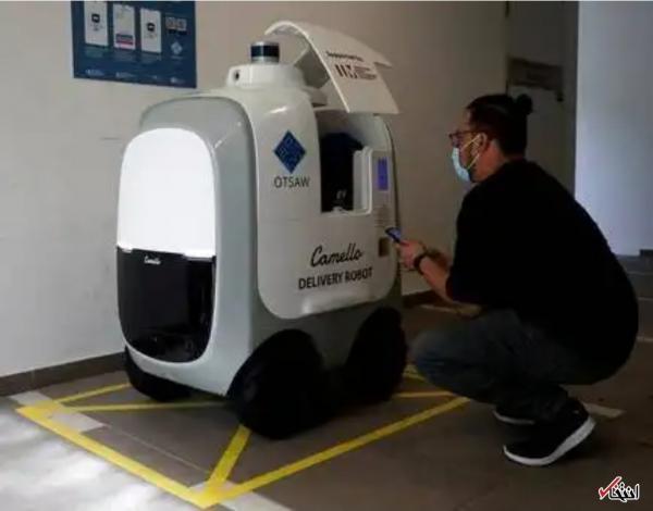 ربات های سنگاپوری رکورد تحویل 40 کیلو غذا را ثبت کردند