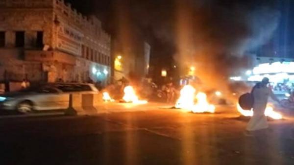 اعتراضات شبانه مردم جنوب یمن علیه ائتلاف سعودی