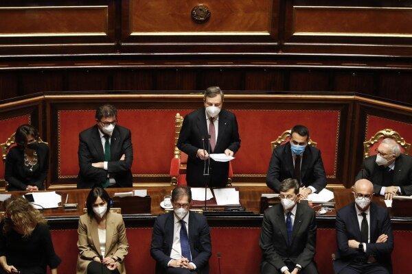 سنای ایتالیا به دولت جدید ماریو راگی رأی اعتماد داد