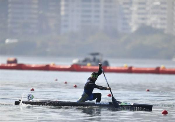 مسابقات انتخابی المپیک آب های آرام، عادل مجللی سوم شد