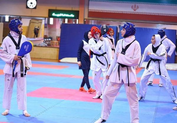 ترکیب تیم ملی تکواندو بانوان برای حضور در مسابقات قهرمانی آسیا تغییر کرد