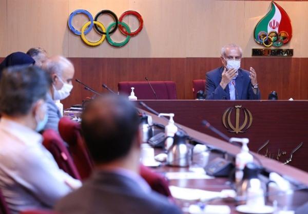 نشست کادر سرپرستی المپیک توکیو برگزار گشت