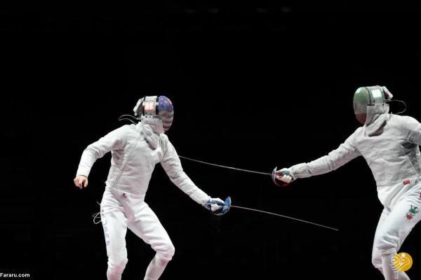 پابان کار شمشیربازی با کسب اسم ششمی در المپیک