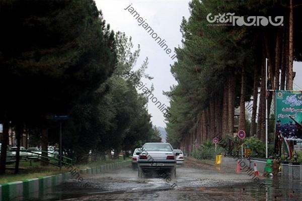 هشدار سیلاب و برخورد صاعقه در 8 استان