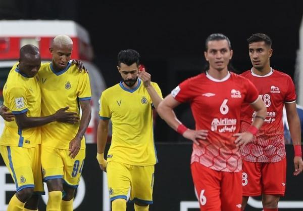 لیگ قهرمانان آسیا، انتها کار تراکتور با شکست مقابل النصر، پرسپولیس تنها نماینده ایران در یک چهارم نهایی