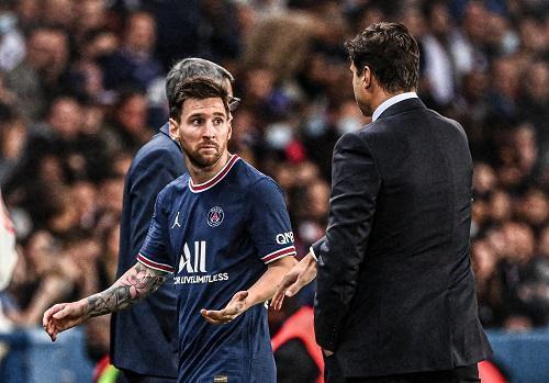 اعتراض مسی به پوچتینو پس از تعویض؛ کلافگی فوق ستاره در پاریس