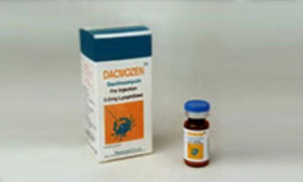 داکتینومایسین (DACTINO MYCIN)